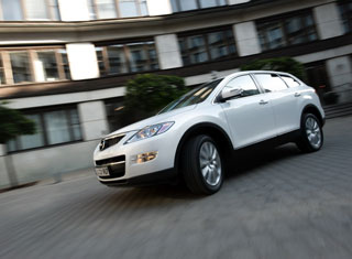 Mazda CX-9. - King size