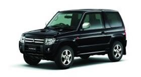Специальный выпуск Mitsubishi Pajero Mini - Premium Selection