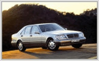 Mercedes S 300 Turbo-D W140